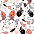Pattern of fish Royalty Free Stock Image