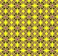 Pattern with flower seamless texture Stock Photo