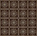 Pattern with flower seamless texture Stock Photos
