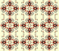 Pattern with flower seamless texture Stock Photography
