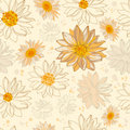 Pattern flowers Stock Image