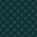 Pattern with flowers. Seamless tiling background. Floral vector icons. Fashion decorative fabric, wrapping paper, banner, print