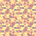 Pattern geometric with triangles