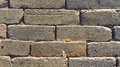 Pattern of gray sidewalk pavers. Floor pavers, detail of a pavem Royalty Free Stock Photo