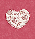 Pattern heart pattern reflected in background button decal with Stock Images