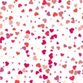 Pattern with hearts. Valentines Day background. Modern concept. Royalty Free Stock Photo
