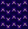 Pattern with iris seamless texture Royalty Free Stock Photography