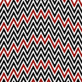 Pattern irregularly zigzag Stock Image