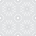 Pattern in islamic style Royalty Free Stock Photo