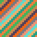 Pattern with knitted zigzag Royalty Free Stock Photo