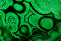 Pattern Malachite Natural Gem Crystal Close Up Royalty Free Stock Photos