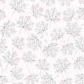 Pattern maple leaves variant on a light background Royalty Free Stock Image