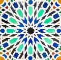 Pattern of mosaic colorful for background Stock Photography