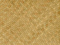 Pattern nature background of handicraft weave texture wicker traditional thai style brown surface for furniture material Stock Image