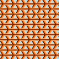 Pattern orange brown Royalty Free Stock Image