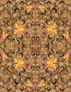 Pattern ornamental Royalty Free Stock Photos