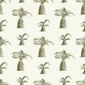 Pattern of palms Royalty Free Stock Photos