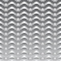 Pattern from paper tapes on a gray background Royalty Free Stock Photos