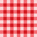 Pattern picnic tablecloth vector Stock Image