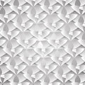 Pattern from pieces of paper on a gray background Royalty Free Stock Photos