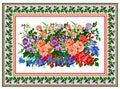 Pattern, popular motif, regular motif, tablecloth, picture