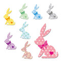 Pattern Rabbit Royalty Free Stock Photos