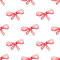 Pattern with red bow
