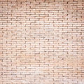Pattern of red brick wall texture for background Royalty Free Stock Photo