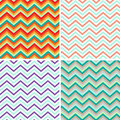 Pattern Retro Zig Zag Chevron Vector Stock Photography