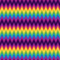 Pattern Retro Zig Zag Chevron Vector Royalty Free Stock Images