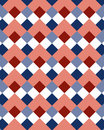 Pattern rhombus 1 Royalty Free Stock Image