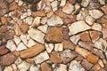 Pattern of rock wall Royalty Free Stock Photo