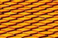 Pattern roof tiles. Texture and pattern background