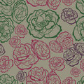 Pattern with roses Royalty Free Stock Photos