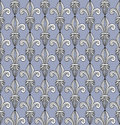 Pattern with royal lilies seamless abstract old symbol of excellence and perfection classical ornament for wallpaper or web Stock Photo