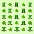 Pattern Saint Patrick`s Day