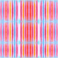 Pattern seamless art line color red pink orange paint on wood de Royalty Free Stock Photo