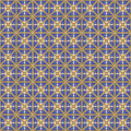Pattern seamless colorful geometric in abstract style Royalty Free Stock Photos