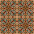 Pattern seamless colorful geometric in abstract style Stock Photography