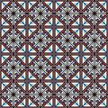 Pattern seamless colorful geometric arabesque style Stock Photo