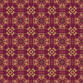 Pattern seamless colorful geometric arabesque style Royalty Free Stock Photos