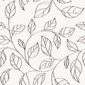 Pattern seamless leaves abstract with Royalty Free Stock Image