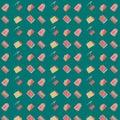 pattern seamless set of transport delivery business marketing concept. vector illustration eps10