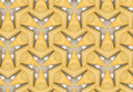 Pattern of sliced apples in tiled geometric pattern Royalty Free Stock Photography