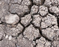 Pattern of soil dry closeup Royalty Free Stock Photo