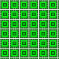 Pattern square green Royalty Free Stock Photo