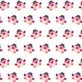 Commando piggy - sticker pattern 38