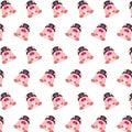 Commando piggy - sticker pattern 39