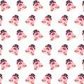 Commando piggy - sticker pattern 40