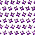 Purple gremlin - sticker pattern 40